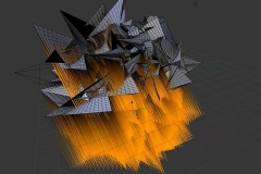 Blender-12_vertex-paint-1_random_vertex-paint_2xsubdiv_weight-paint_extrude
